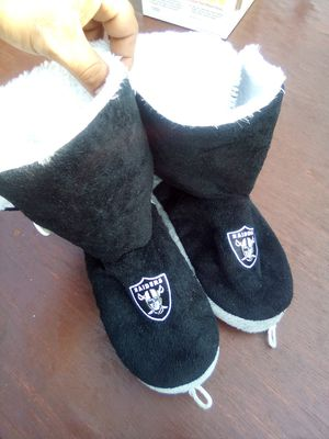 Raider boot slippers for Sale in South Gate, CA