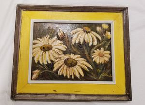 Painting yellow and brown flowers for Sale in San Jose, CA