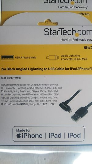 Apple iPhone lightning chargers 6ft Cable for Sale in Stockton, CA