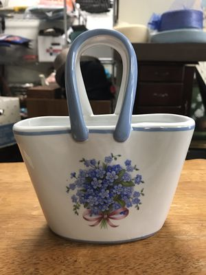 Vintage A Special Place Ceramic Handbag for Sale for sale  Upland, CA
