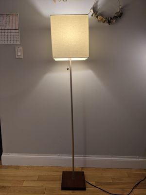 Modern Floor Lamp (Square Shade) for Sale in Queens, NY