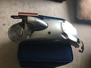Triumph Bonneville rear fender with limp sausage taillight. for Sale in Arlington, VA