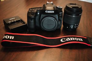 Canon 80D with EF-S 18-55mm f/3.5-5.6 for Sale in Austin, TX