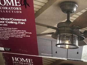 2 ceiling fans new in box home decoration collection $119each for Sale in Glendale, AZ