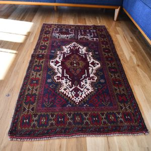 2.9x4.6 hand knotted Afghani rug for Sale in Gresham, OR