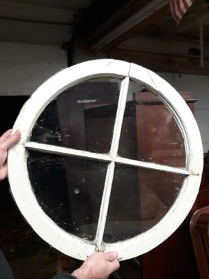 Antique wooden 4 pane window for Sale in Medway, MA