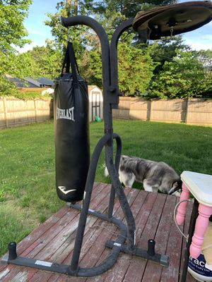 EverLast punching & speed bag rack for Sale in Stony Brook, NY