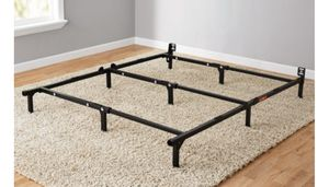 "Bed Frame, Adjustable 7"" Fits twin/full/Queen Brand new for Sale in Riverbank, CA"