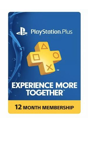 Sony PlayStation Plus 1 Year Membership Subscription Card for Sale in Washington, DC