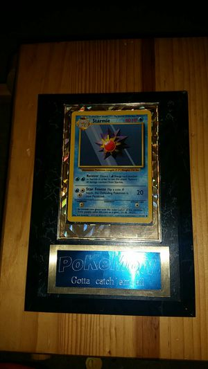 Starmie Pokemon card for Sale in West Bloomfield Township, MI