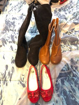 Girls boots and shoes for Sale in Shady Shores, TX