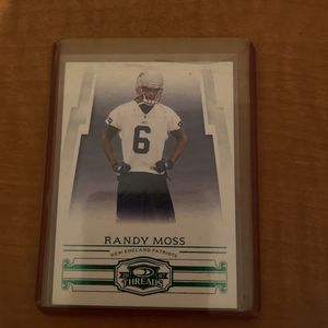Randy Moss 2007 Card Donruss 6 Patriots Threads Card for Sale in Sanford, FL