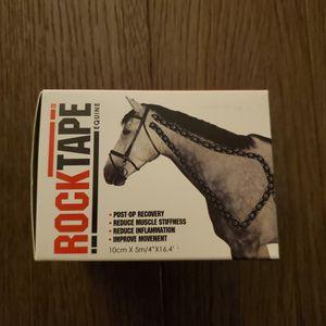 "NEW Rocktape 4"" Equine Kinesiology Tape for Horses, Horse Shoe(Box Damage) for Sale in Hamburg, NY"