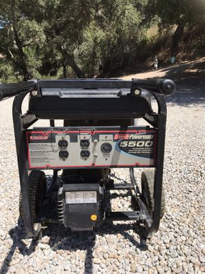 Coleman 6875 watt portable generator for Sale in Nipomo, CA