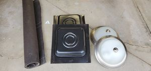 Free lights, vents and tar paper. J channel and corner piece for Sale in Aurora, IL