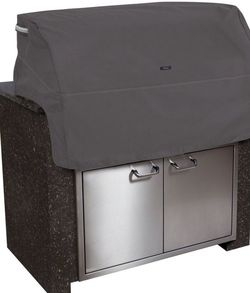 Classic Accessories Ravenna Water-Resistant 37 Inch Built-In BBQ Grill Top Cover, Black / Small for Sale in Vail,  AZ