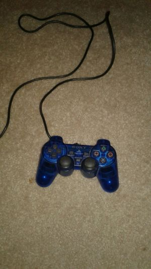 Blue ps2 controller for Sale in Kissimmee, FL