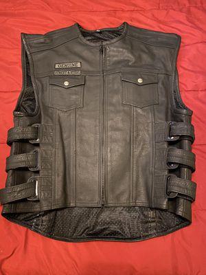 Street & Steel motorcycle vest/jacket for Sale in Las Vegas, NV