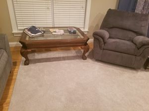 Glass Coffee Table for Sale in Cross Lanes, WV