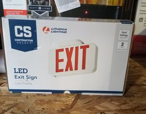 Lithonia Lighting Red LED Exit Sign New for Sale in Nicholasville, KY