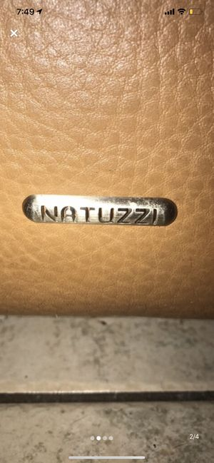 Relisting. Natuzzi Top Grain Leather recliner, sectional couch. for Sale in Miami, FL