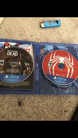 Spider-Man and The Walking Dead for Sale in Germantown, MD