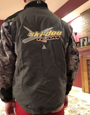 Skidoo snowmobile ski jacket boys size 12 for Sale in Londonderry, NH