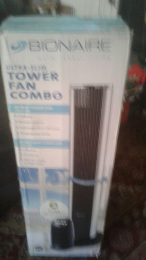 Ultra slim tower fan combo for Sale in Phoenix, AZ