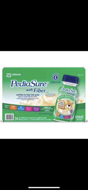 1 24 case of Pediasure w/ Fiber for Sale in Alexandria, VA
