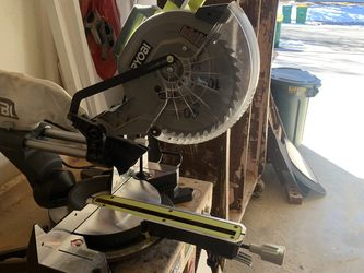 "Ryobi 10"" Sliding Compound Miter Saw With Laser for Sale in Arvada,  CO"