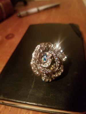 Vintage Brooch Turned Modern Ring for Sale in UNM, NM