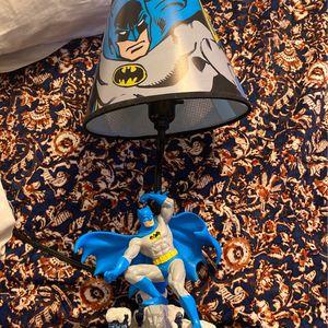 Vintage Batman Nightstand Lamp for Sale in Needham, MA