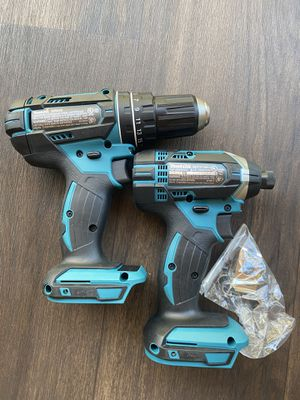 18-Volt LXT Lithium-Ion Brushless Cordless Hammer Drill and Impact Driver Combo (tools only) Price is firm $120 for Sale in El Cajon, CA