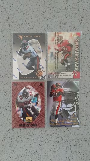 Warrick Dunn football cards for Sale in South San Francisco, CA