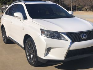 2013 Lexus Rx350 f sport white for Sale in Fayetteville, AR