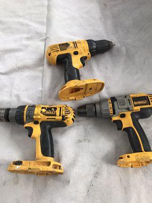 Dewalt cordless drills for Sale in Riverside, CA