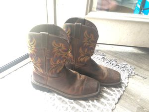 Justin Boot Work Boots Size 12 for Sale in Chapmansboro, TN
