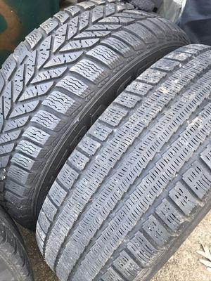 Snow tires with rims for Sale in Dedham, MA
