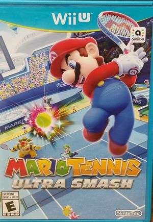 Mario Tennis Ultra Smash Nintendo Wii U for Sale in Fresno, CA