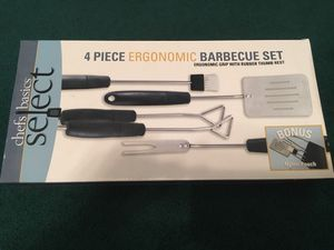 4 PC BBQ set and Thermometer Fork for Sale in Pittsburgh, PA