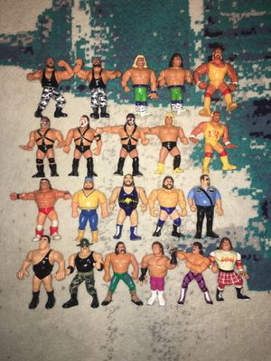 WWF WWE wrestling figures old school vintage hasbro Collectible Toys for Sale in Bronx, NY