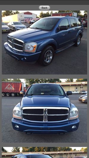 05 Dodge Durango 3rd seat limited edition leather for Sale in Manassas, VA