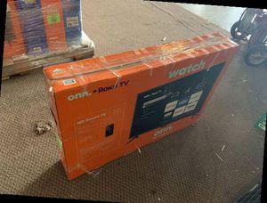 """ONN 32"""" Brand new TV! Open Box w/ warranty VX for Sale in Bloomington, CA"""