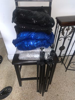 8X8 Backdrops and 10X10 Stand for Sale in Miami, FL