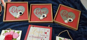 Red Love ❤ Theme Decor (6) lot $20 for Sale in Portland, OR