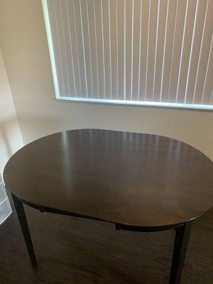 BROWN KITCHEN TABLE for Sale in Miramar, FL