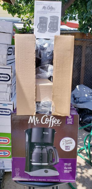 12 cups mr coffee programable for Sale in Los Angeles, CA