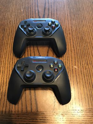 2 Steelseries Nimbus Controllers Apple TV, iPhone $20 apiece or both for $30 for Sale in Riverside, CA