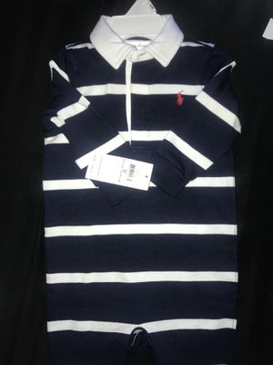 65a2461f736 Infant boy 6month polo jumpsuit for Sale in Hershey