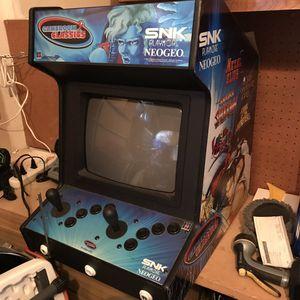 Neo Geo tabletop arcade cabinet game for Sale in OSBORNVILLE, NJ
